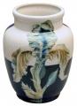 Flower Vase Magic Iris Lomonosov Imperial Porcelain