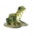 Frog Tiny Sweet Young Lomonosov Imperial Porcelain Figurine