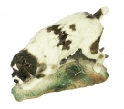 German Griffon Dog Lomonosov Imperial Porcelain Figurine