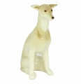 Italian Grayhound Dog Lomonosov Porcelain Figurine