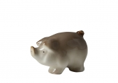Little Piglet Pig Lomonosov Porcelain Figurine