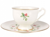 Lomonosov Imperial Bone China Tea Set Aisedora Foxberry 8.1 oz240 ml