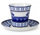 Lomonosov Imperial Porcelain Mug Anichkov Bridge Leningradskii-2 12.2 fl.oz/360 ml