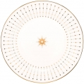 "Lomonosov Imperial Porcelain Dinner Plate Azur Golden 7.9""/200 mm"