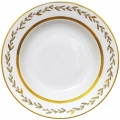 "Lomonosov Imperial Porcelain Dinner Plate European Jade Background Flat 8.7""/220mm"