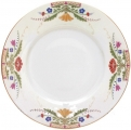 Lomonosov Imperial Porcelain Dinner Plate European Moscow River Flat 265 mm