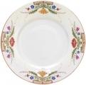Lomonosov Imperial Porcelain Dinner Plate European Moscow River Flat 265 mm