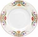 """Lomonosov Imperial Porcelain Dinner Plate European Moscow River Flat 11.8""""/300 mm"""