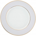 Lomonosov Porcelain Dinner Plate Frosty Fairytale Blue