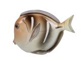 Lomonosov Porcelain Figurine Mola Fish Brown