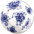 "Lomonosov Imperial Porcelain Flat Dinner Plate Singing Garden 9.4""/240 mm"