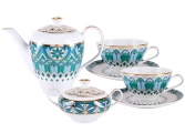 Lomonosov Porcelain Tea Set Service Grace Gothic
