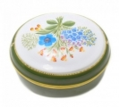 Lomonosov Imperial Porcelain Treasure Jewellery Oval Box Wind Flower