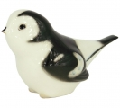 Snow Bunting Bird #2 Lomonosov Imperial Porcelain Figurine