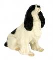 Spaniel Dog Lomonosov Porcelain Figurine