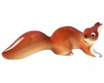 Squirrel Red Lomonosov Imperial Porcelain Figurine