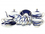 Lomonosov Imperial Porcelain Tea Set Spring Cocoon 6/21