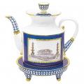Lomonosov Imperial Porcelain Teapot Banquet Classic of Petersburg 75.1 fl.oz/2220 ml