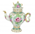 Lomonosov Imperial Porcelain Light Day Teapot Samovar shape 16.23 oz/480 ml