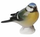 Titmouse Blue-Headed Bird Lomonosov Imperial Porcelain Figurine