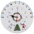 Wall Clock Ballet Nutcracker Lomonosov Imperial Porcelain