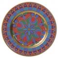"Decorative Mazarin Wall Plate 10.4""/265 mm Gothic #10 Lomonosov Imperial Porcelain"
