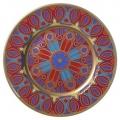 "Decorative Wall Plate Mazarin Gothic #11 10.4""/265 mm Lomonosov Imperial Porcelain"