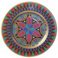 "Decorative Wall Plate Mazarin Gothic #4 10.4""/265 mm Lomonosov Imperial Porcelain"