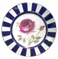 "Decorative Wall Plate Rose Flower 9.4""/240 mm Lomonosov Imperial Porcelain"