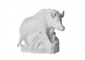 Wild Boar Big Pig Lomonosov Porcelain Figurine