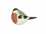Winter Bullfinch Bird Lomonosov Imperial Porcelain Figurine