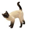 Lomonosov Porcelain Figurine Siamese Cat