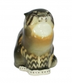 Cat Wildcat Lomonosov Imperial Porcelain Figurine