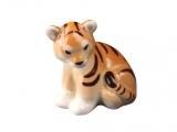Tiger Baby Lomonosov Imperial Porcelain Figurine
