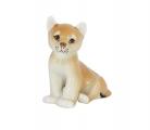 Lion Baby Sitting Lomonosov Imperial Porcelain Figurine