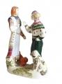 Porcelain Figurine Meeting