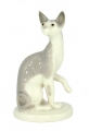 Cat Sphinx Grey Lomonosov Imperial Porcelain Figurine