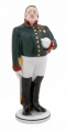 Lomonosov Porcelain Figurine Gogol Government Inspector MAYOR