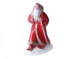 Lomonosov Porcelain Christmas New Year Figurine Red Father Frost Santa Claus