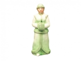 Lomonosov Porcelain Christmas New Year Figurine Green Snow Maiden
