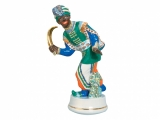 Collectible Lomonosov Figurine Sculpture Moor