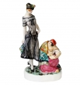 Fortuneteller Lomonosov Imperial Porcelain Figurine