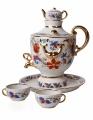 Lomonosov Imperial Porcelain Wine Decanter Set Samovar 30.4 oz/900 ml