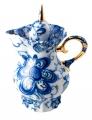 Lomonosov Imperial Porcelain Creamer Singing Garden 13.5 fl.oz/400 ml