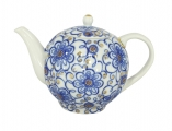 Lomonosov Imperial Porcelain Tea Pot Tulip Bindweed 3 Cups 20 oz/600 mlml