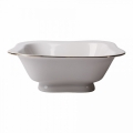 Imperial Porcelain Lomonosov Porcelain Golden Ribbon Salad Bowl (2 serv.) 12 oz / 350 ml