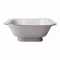 Lomonosov Porcelain Lomonosov Porcelain Golden Ribbon Salad Bowl (4 serv.) 23.7 fl.oz/700 ml