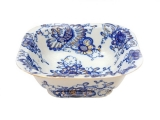 Lomonosov Porcelain Singing Garden Salad Bowl (4 serv.) 23.7 fl.oz/700 ml