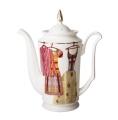 Lomonosov Bone China Porcelain Coffee Pot Julia Shopping 23.3 fl.oz/690 ml
