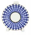 "Lomonosov Porcelain Jam Dish Tulip Cobalt Cell 3.9"""